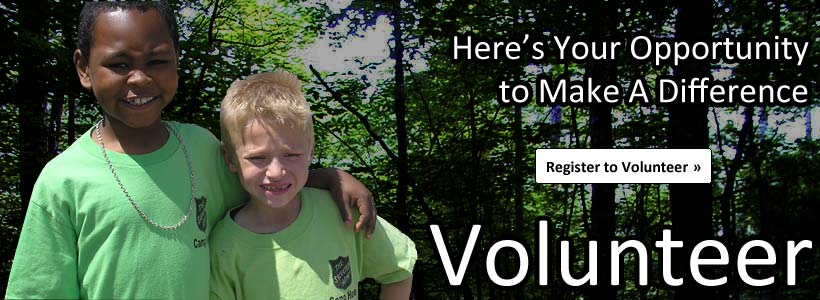 Here's your opportunity to make a difference - Register to Volunteer